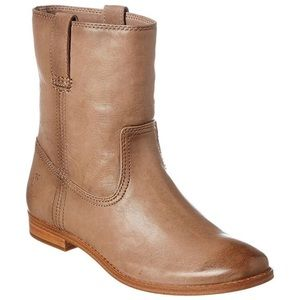 FRYE Women's Anna Short Bootie in Ash NWOT